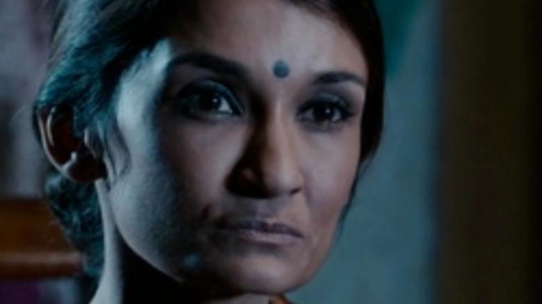 Anjali Bhimani stares in Criminal Minds: Beyond Borders