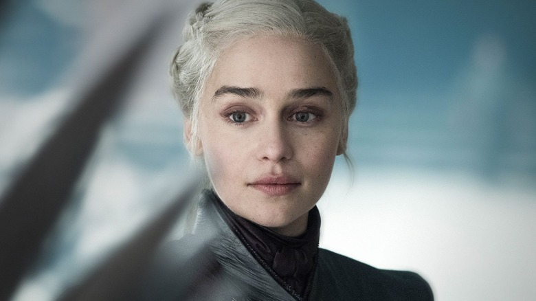 Emilia Clarke as Daenerys Targaryen Game of Thrones season 8