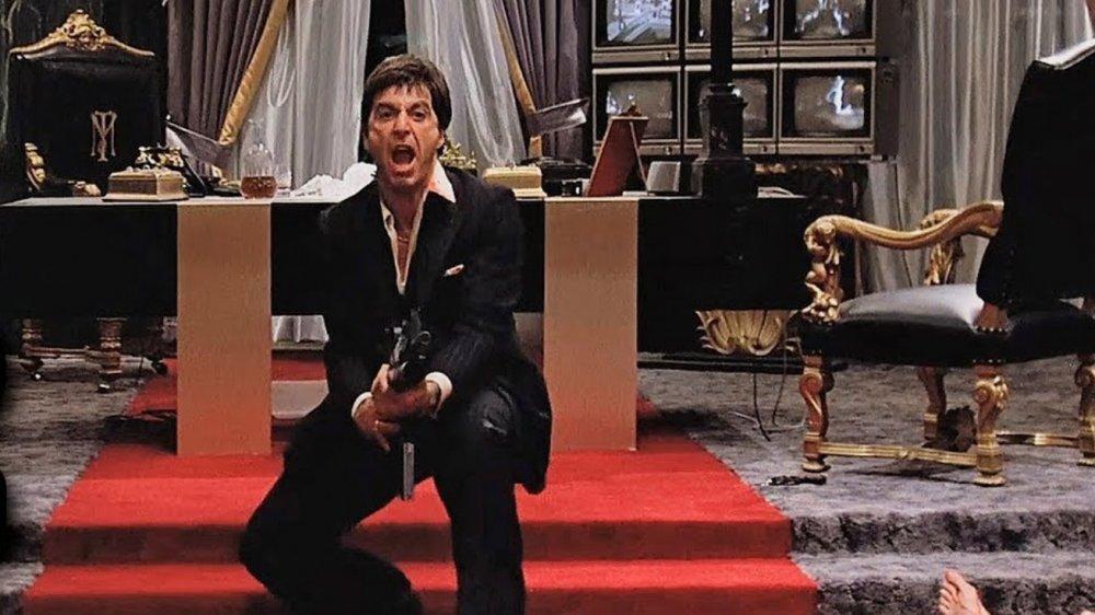 Al Pacino as Tony Montana in Scarface