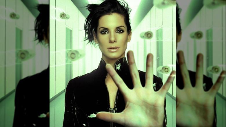Sandra Bullock as Neo in The Matrix