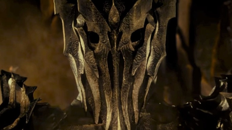 Sauron in his physical form