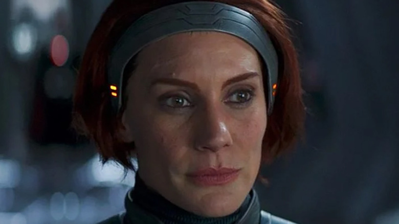 Bo-Katan shows her face