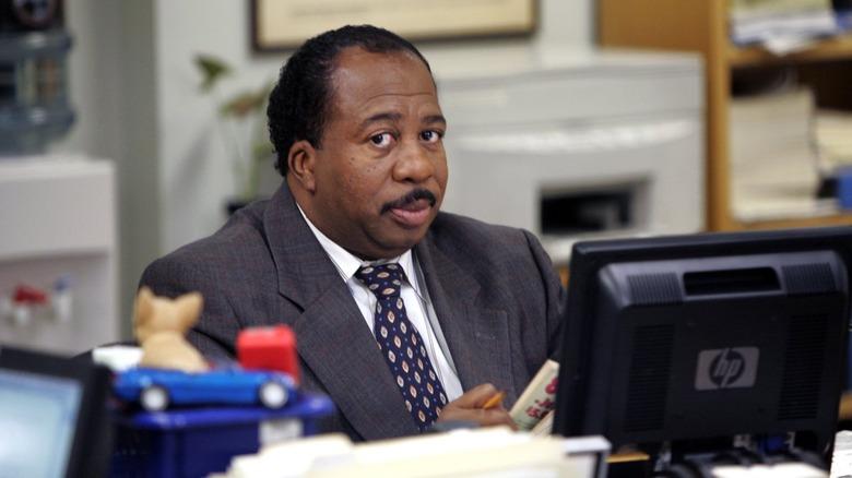 Leslie David Baker as Stanley in The Office