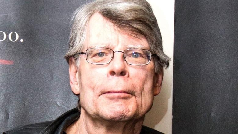 Stephen King looking