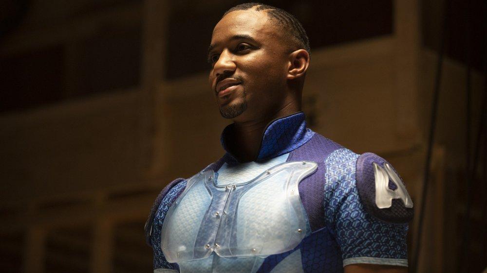 Jessie T. Usher plays A-Train on Amazon's The Boys