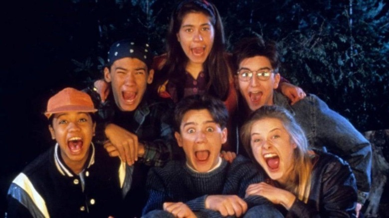 The cast of Are You Afraid of the Dark?