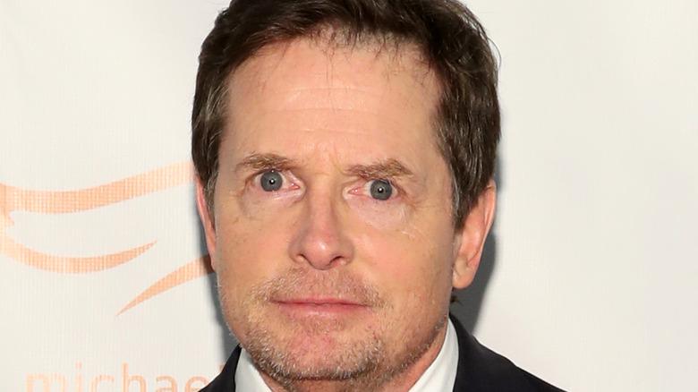 Michael J. Fox red carpet