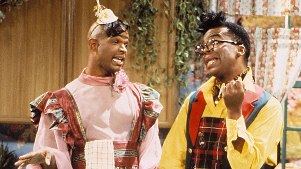 Damon Wayans as Blaine Edwards and David Alan Grier as Antoine Merriweather in In Living Color