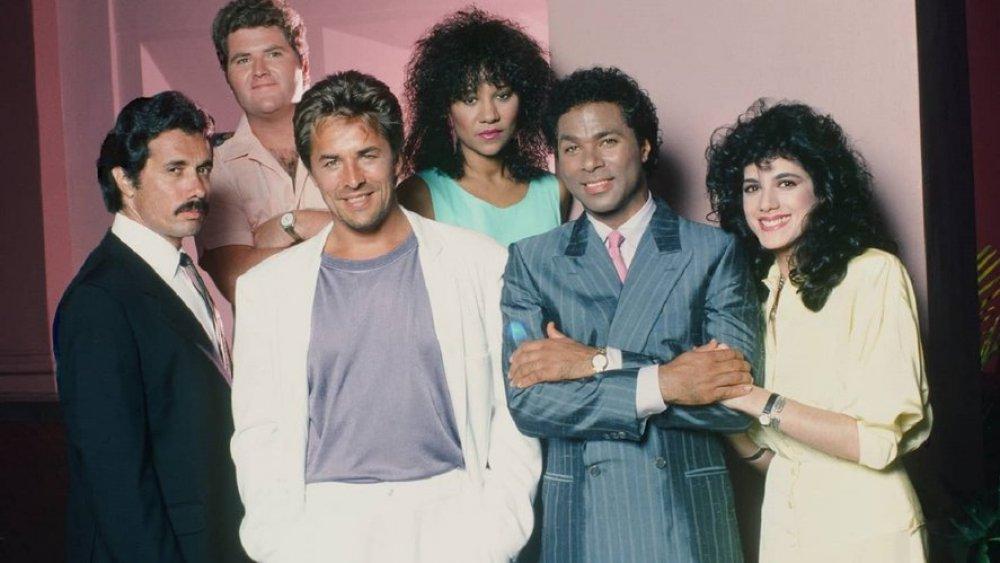 The cast of Miami Vice