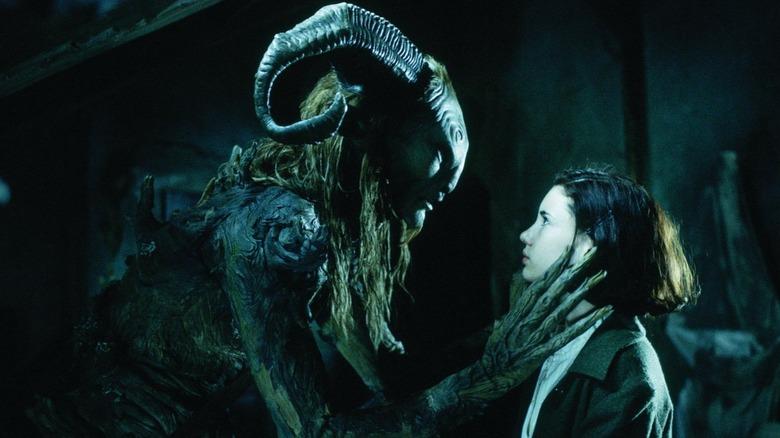 Doug Jones and Ivana Baquero in Pan's Labyrinth
