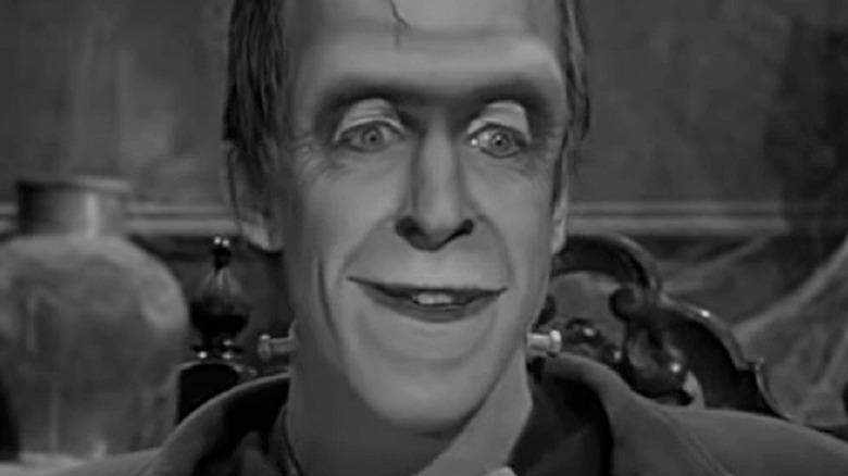 Herman Munster smiling
