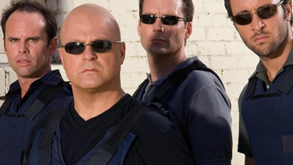 The cast of The Shield