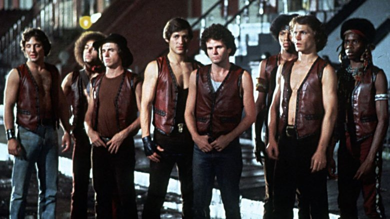 The cast of The Warriors