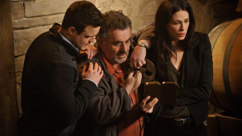 The Warehouse 13 cast in action