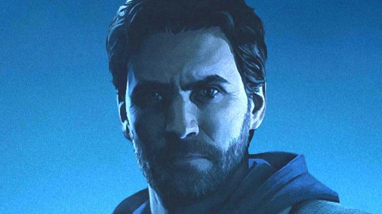 Alan Wake's face Remastered