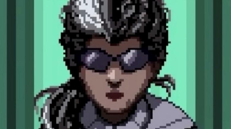 Indra Chaudhari wearing sunglasses