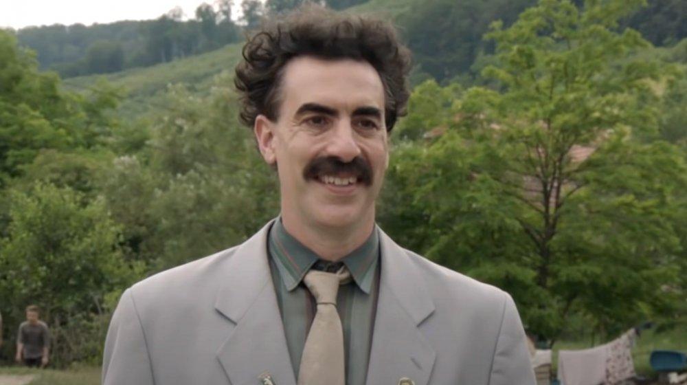 Sacha Baron Cohen as Borat in Borat 2