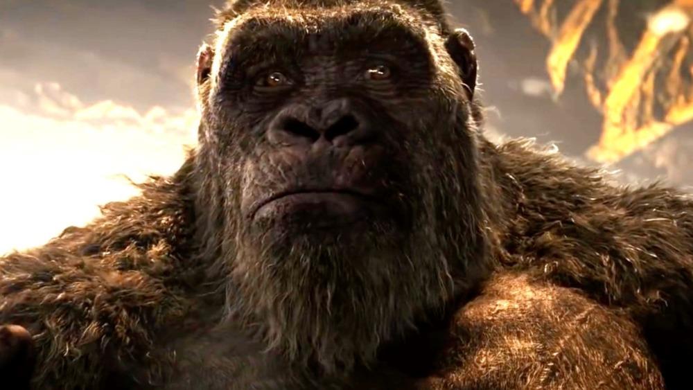 Kong looking serious
