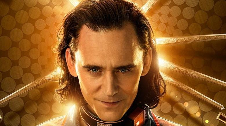 Loki mantle smiling