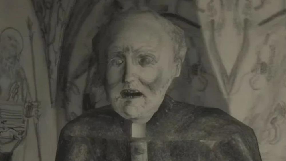 Mundaun old man looking creepy