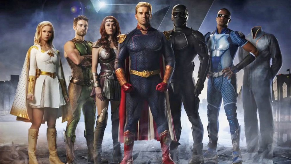 Promo image featuring the cast of The Boys