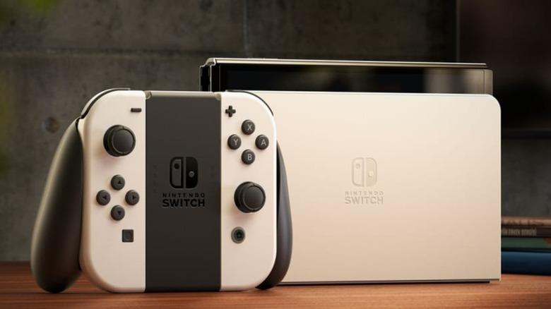 Nintendo Switch OLED Docked Controller
