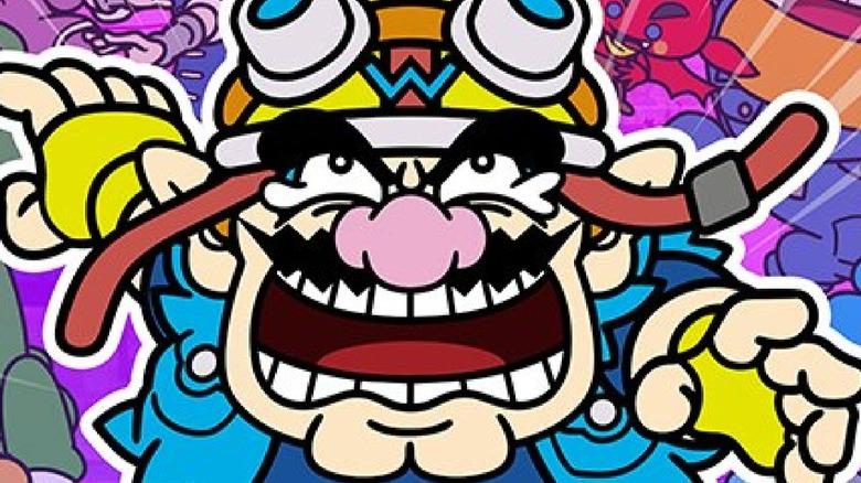 Wario angry  key art