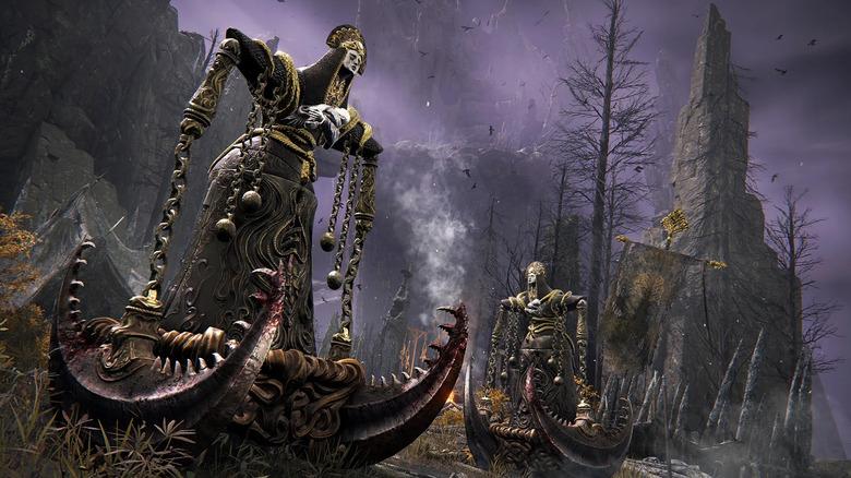 Elden Ring Monsters Deadly Scythe