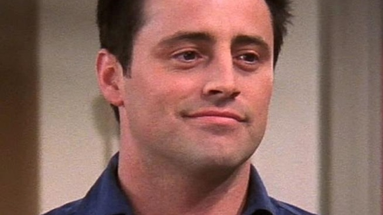 Joey smiling