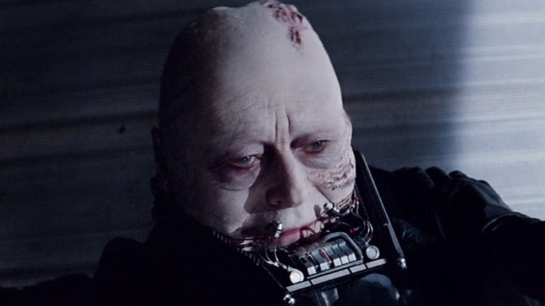 Darth Vader without mask