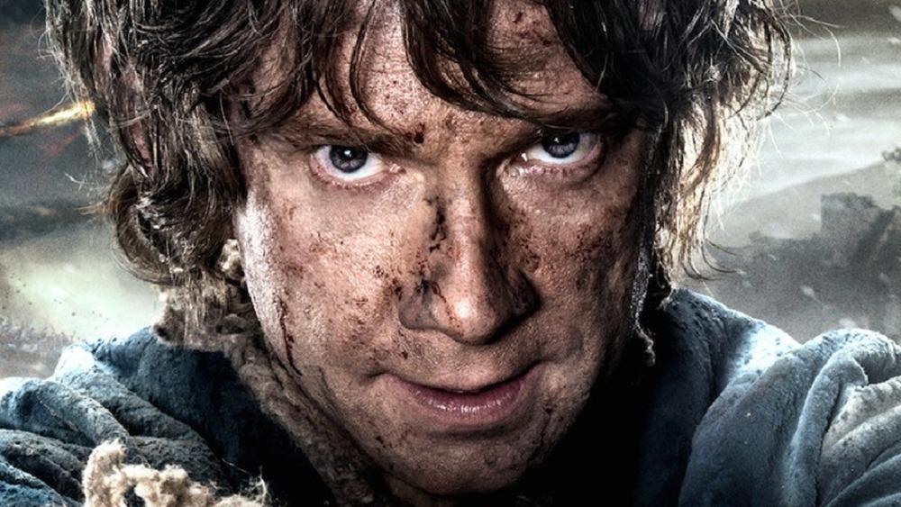 Bilbo Baggins staring