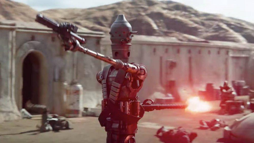 IG-11 appears in season 1 of The Mandalorian