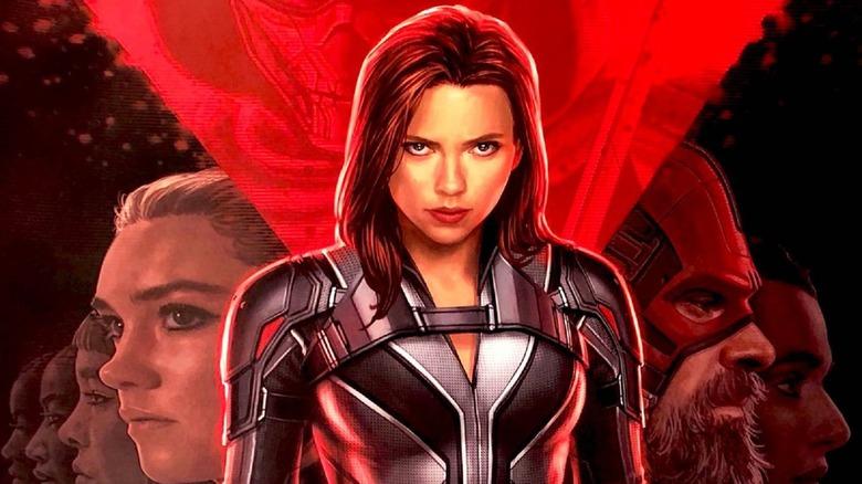 Scarlett Johansson in Black Widow
