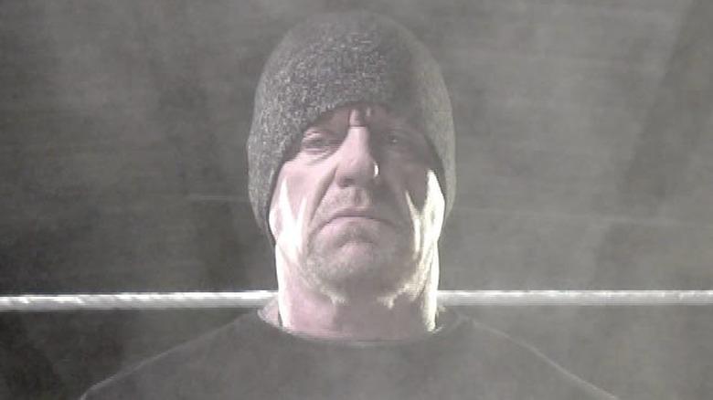 The Undertaker training