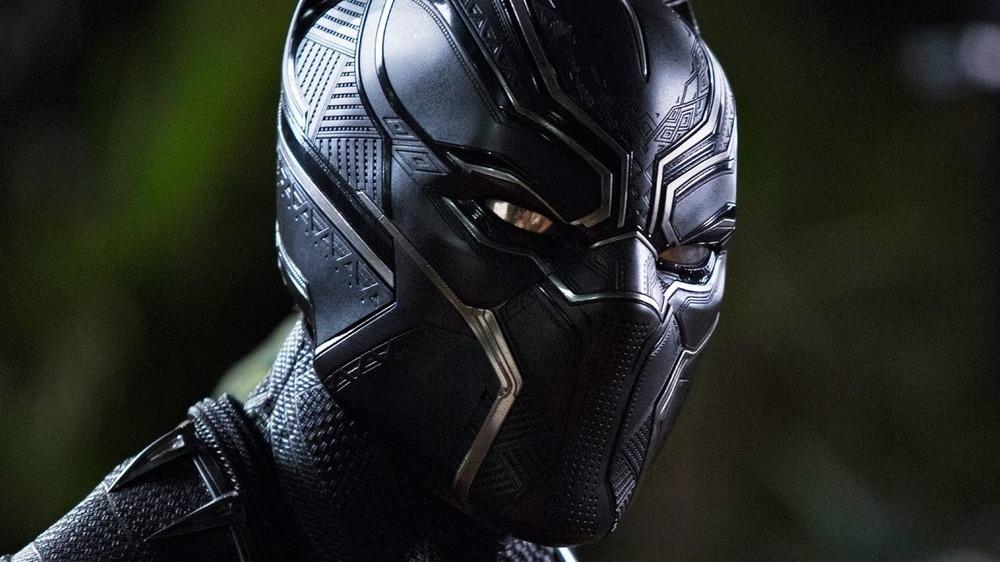 black panther masked