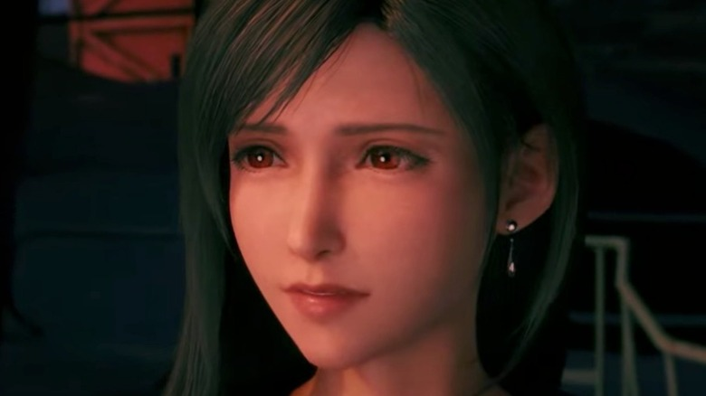 Tifa staring into the distance