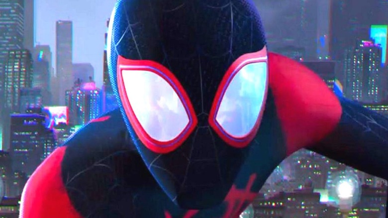 Miles Morales, Spider-Man in close-up