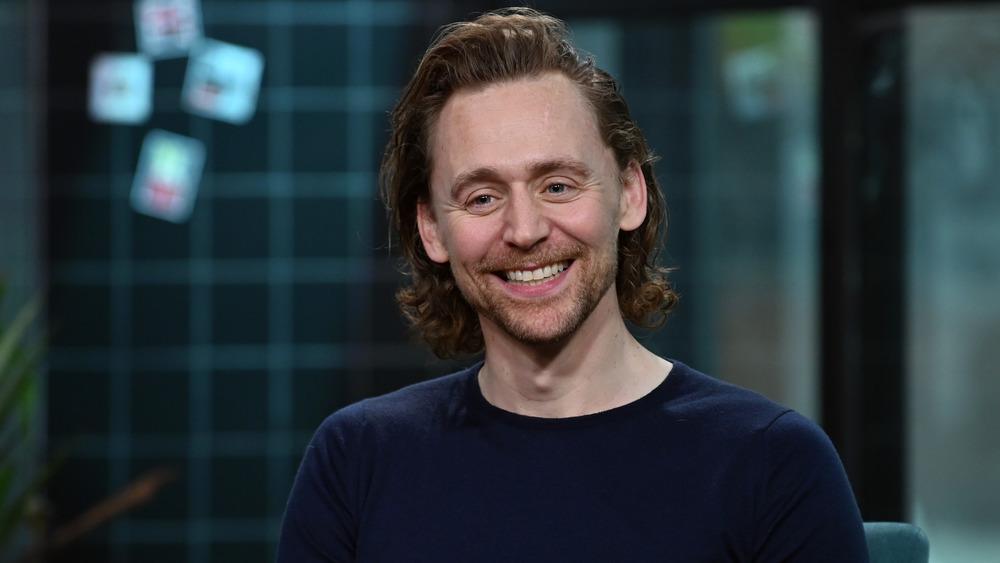 Tom Hiddleston at BUILD Studio