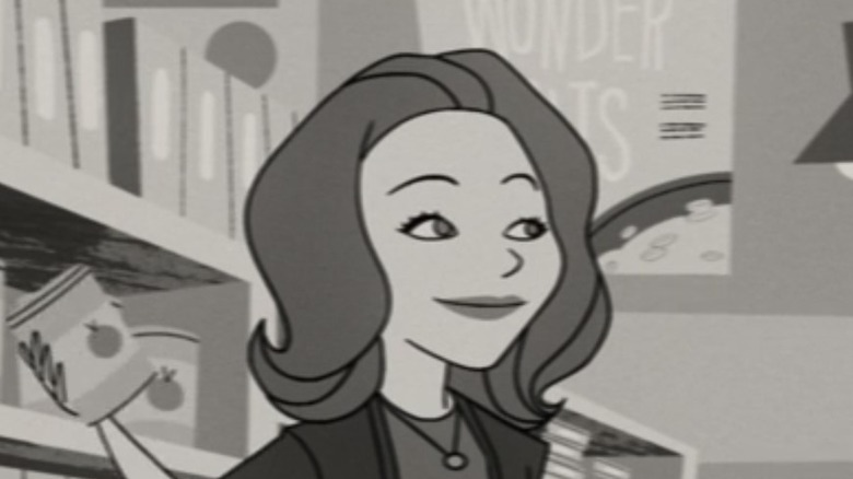 Animated Wanda holding can