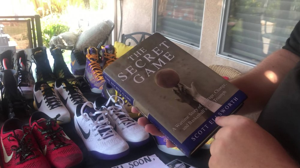 A ton of Kobe Bryant memorability was found in a storage locker