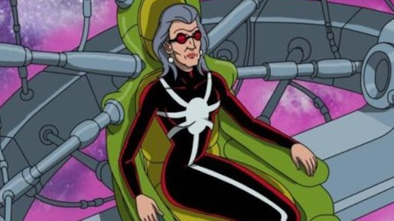 Madame Web from animated Spider-Man series