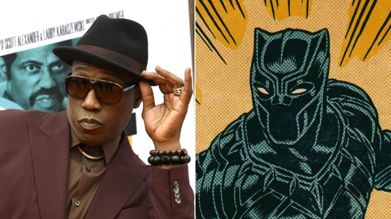Wesley Snipes and Black Panther