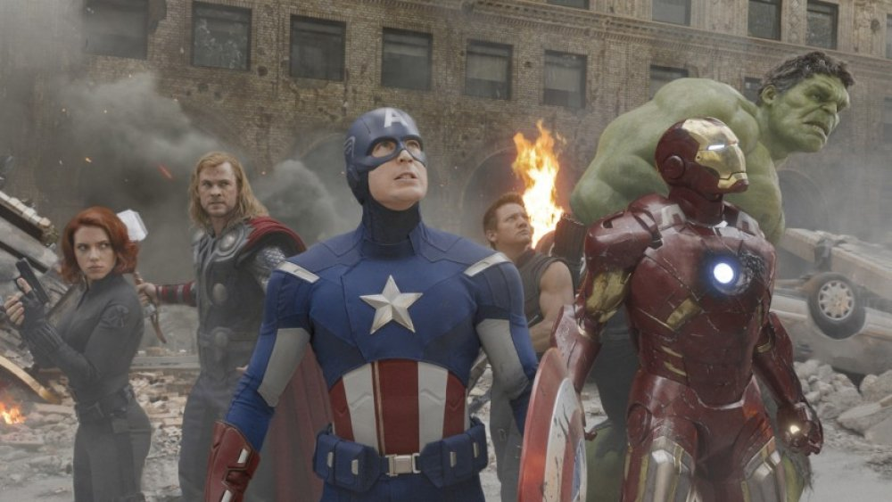 Still from The Avengers