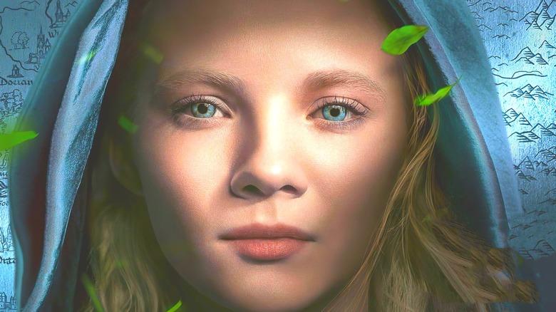 Freya Allan as Ciri in The Witcher