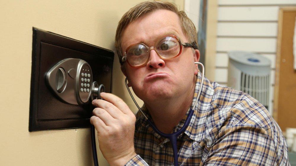Mike Smith as Bubbles on Netflix's Trailer Park Boys