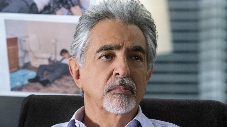 David Rossi with a goatee