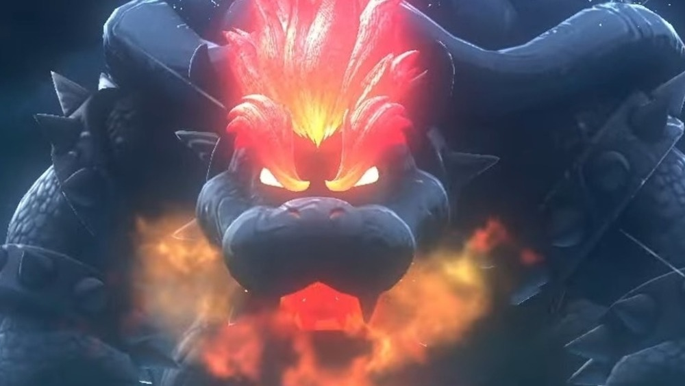 Fury Bowser breathes fire