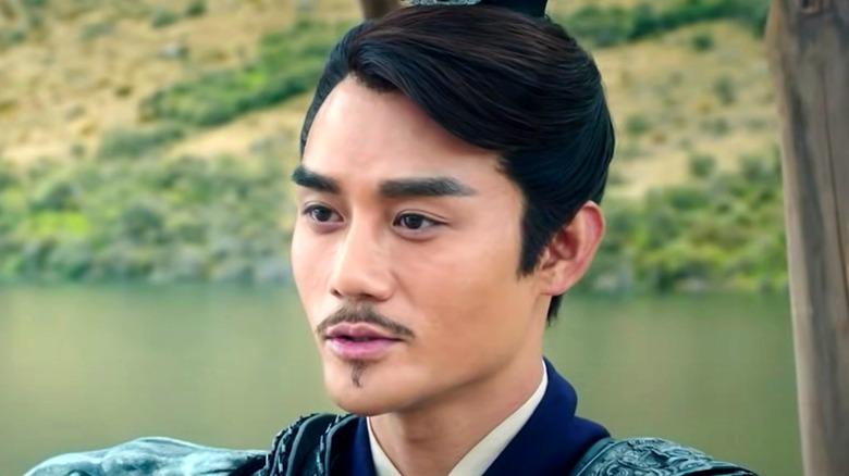 Cao Cao meeting Liu Bei