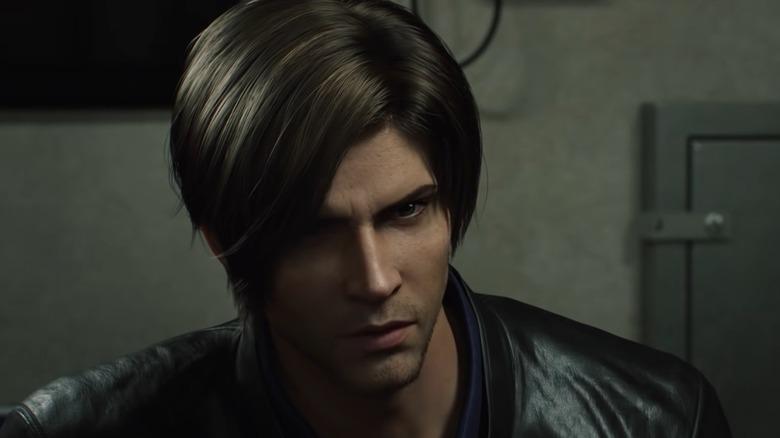 Leon talking with Jason