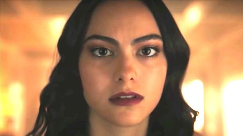 Veronica looking stressed